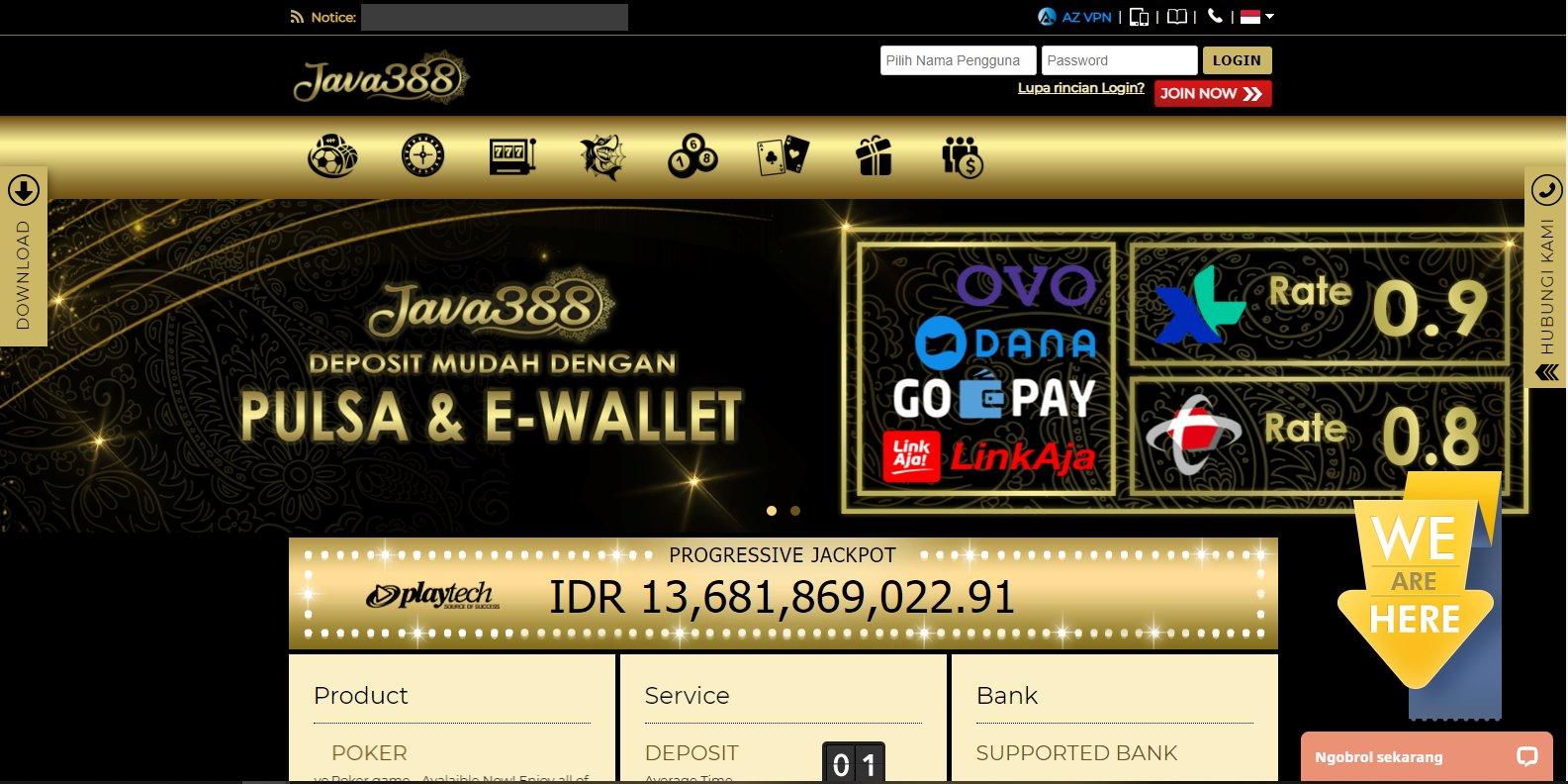 Java388 Penyedia Permainan Slot Online Terbaik Gudang Judi Online Idn Terpercaya Gudang Slot Online Idn Terpercaya