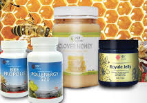 hdi fourstars, pollen, propolis, royal jelly, clover honey