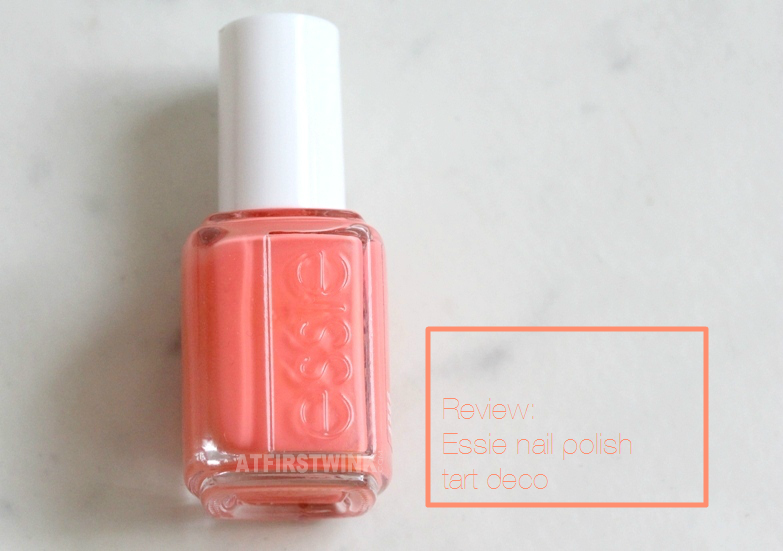 Essie nail polish tart deco review