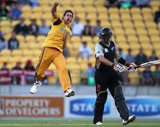 New Zealand vs Australia 1st T20I 2010 Highlights