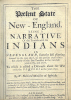 "Title page of Hubbard's ""Narrative of the Troubles with the Indians"""