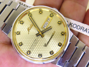 MIDO OCEAN STAR DATETODAY COMMANDER - GOLD BEE DIAL - AUTOMATIC