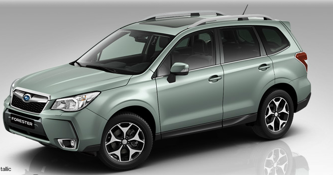Subaru Forester Iv 2015 Colors Couleurs