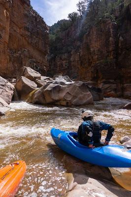 slot canoyon az arizona whitewater kayak,