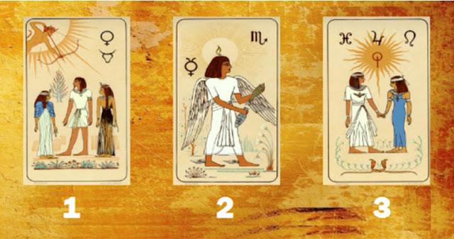Выберите египетскую карту и узнайте свое будущее!