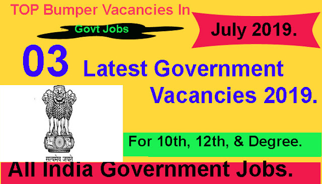 latest government jobs.