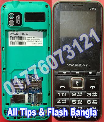 Symphony L140 Flash File