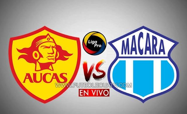Aucas recibe al Macará desde las 19h00 horario local, continuando la jornada nueve del campeonato doméstico, siendo transmitido por GolTV Ecuador a efectuarse en el reducto Gonzalo Pozo Ripalda. Con arbitraje principal de Roberto Sánchez.