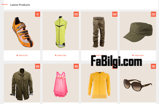 Blogger E-Ticaret Ürün Satış Sitesi Teması İndir Bedava 2020 BetaCommerce