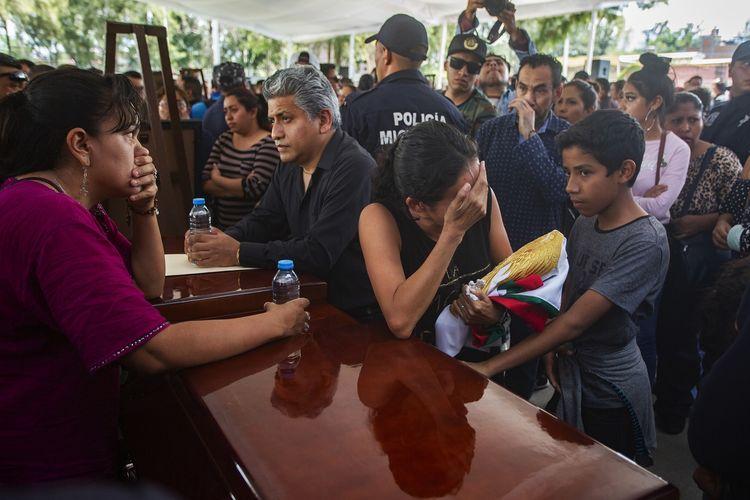 Ngeri! Jelang Masa Pemilihan di Meksiko, 88 Politisi Tewas Ditembak