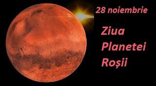 28 noiembrie: Ziua Planetei Roșii / Marte