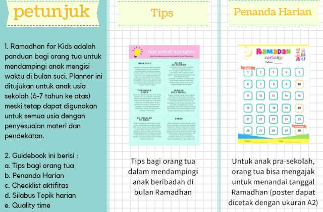 Download Buku Bimbingan Ramadhan Untuk Anak | Ramadhan Guide For Kids
