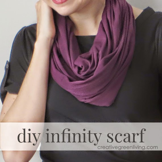 DIY Infinity Scarf from Creative Green Living