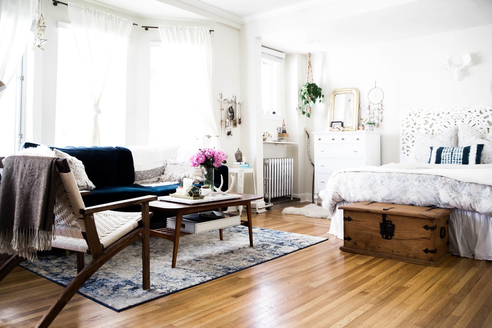 My Never Ending Daydream A Boho Chic Studio Apartment