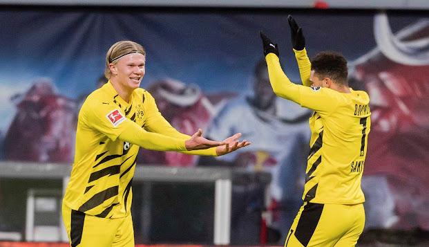 ملخص مباراة  بوروسيا دورتموند ولايبزيغ (3-1) في الدوري الالماني