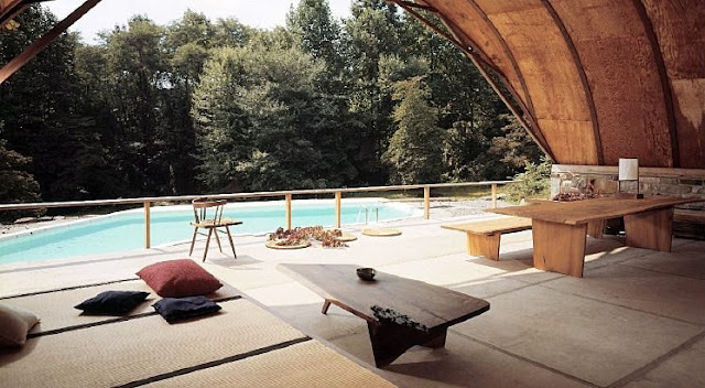 George Nakashima Pennsylvania Pool House