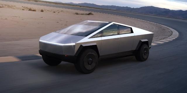 Desain Tesla Cybertruck Nyeleneh, Tetap Laku Keras!