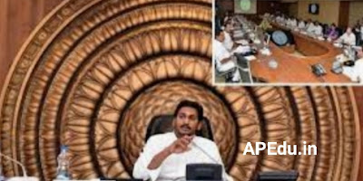The Cabinet approved several issues of the concluded AP Cabinet meeting