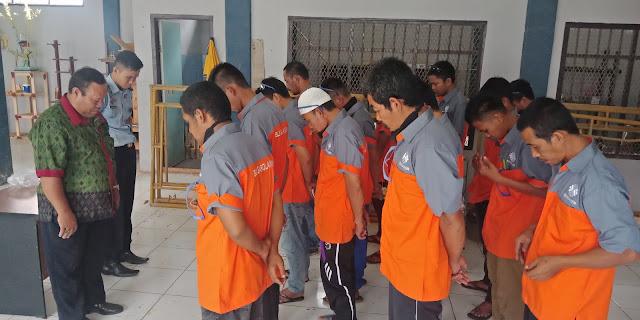 Pelatihan Las Untuk WBP Lapas Sarolangun