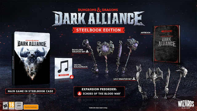 Wizards of the Coast Announces Launch Date for Dungeons & Dragons Video Game Dark Alliance for PC & Consoles [Trailer Included]
