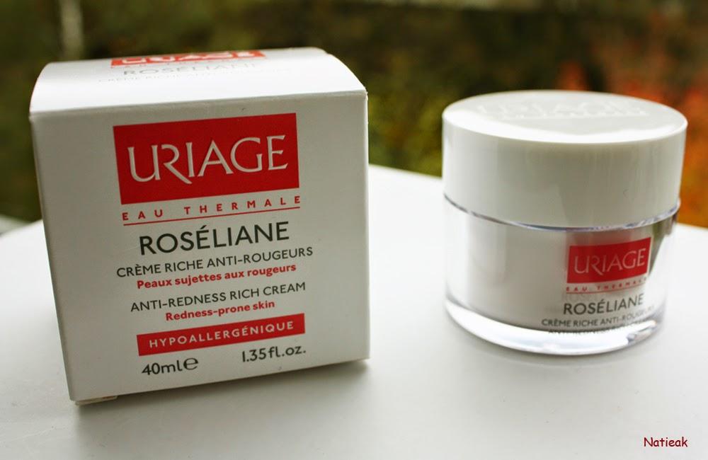 crème riche anti-rougeurs Uriage
