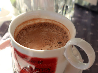 Very tasty hot chocolate