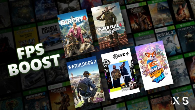 Microsoft's new FPS Boost for Xbox Series X & S doubles game frame rates