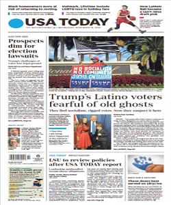 USA Today Magazine 18 November 2020 | USA Today News | Free PDF Download