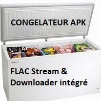 CONGELATEUR - FLAC Stream & Downloader (Windows/Android/Android TV/Linux)