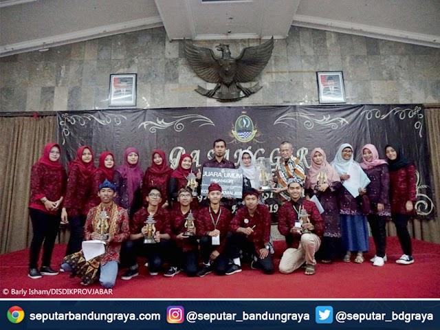 Daftar Pemenang Pasanggiri Kesenian Bahasa Sunda Jenjang SMA 2019