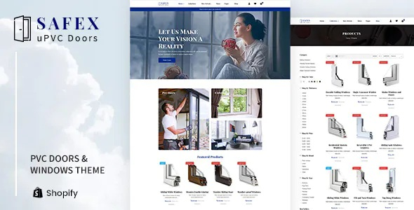 PVC Doors & Windows Shopify Theme
