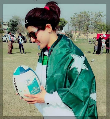 Iram-Rathore-Wanting-to-raise-the-national-flag-in-football-and-rugby-simultaneously