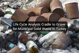 Life Cycle Analysis Cradle to Grave for Municipal Solid Waste in Turkey