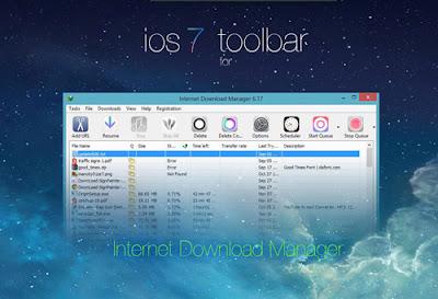 Skin idm ios 7 toolbar