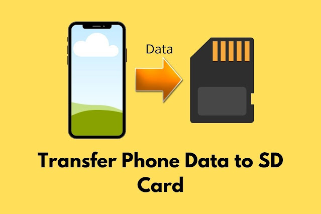 phone memory se sd card me copy