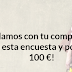 Gana 100€ al mes