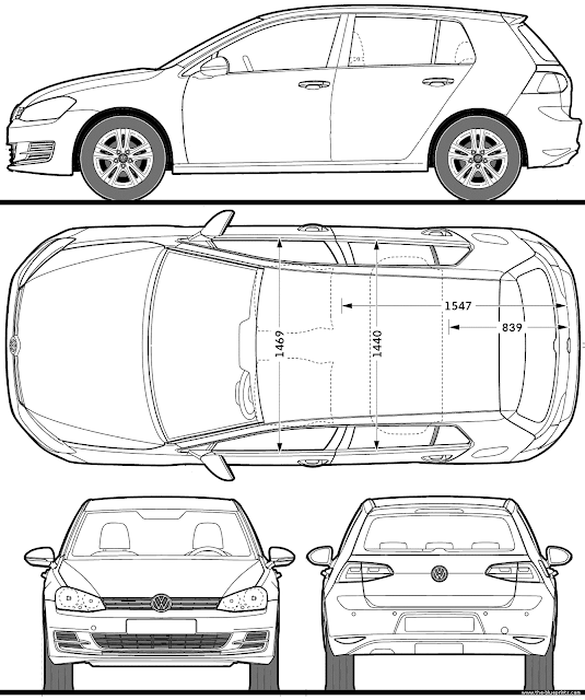 Most Loved Car Blueprints for 3D Modeling Free