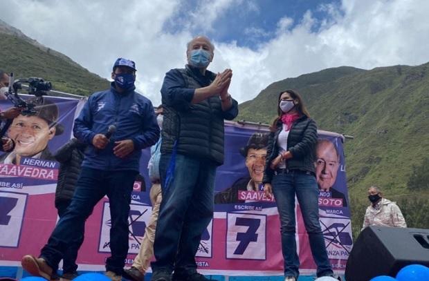 Hernando de Soto inició gira por el norte del país