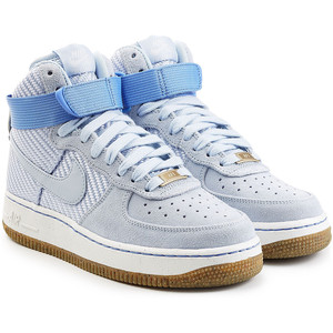 Airforce 1 suede high top sneakers, $145 from Nike