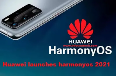 Huawei launches new operating system for phones harmonyos 2021
