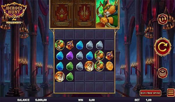 Main Gratis Slot Indonesia - Heroes Hunt 2 Megaways Relax Gaming