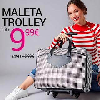 Maleta Trolley por solo 9,99€ en venca