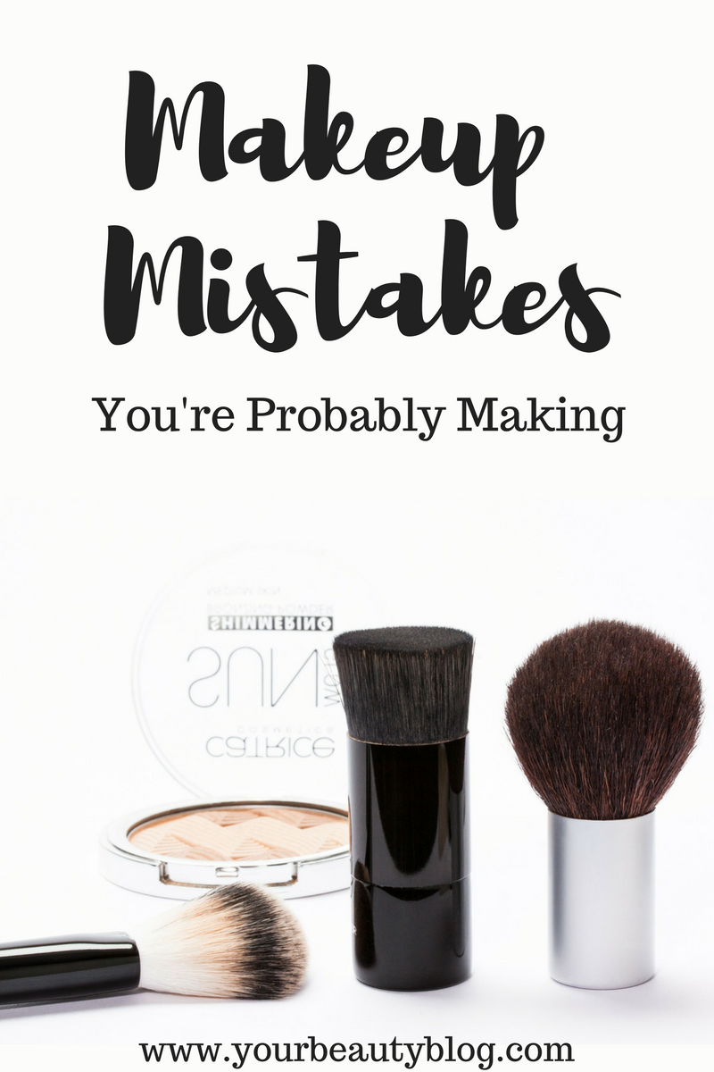 Makeup Mistakes You're Probably Making