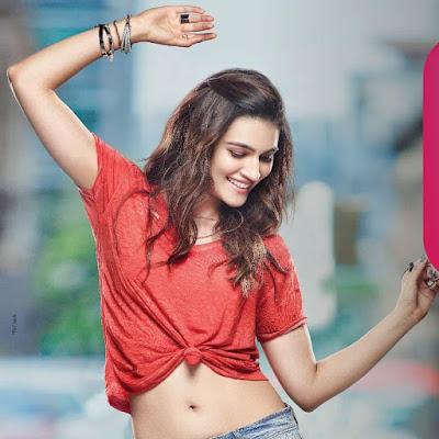 Kriti Sanon Navel, heroines photos, wallpaper download in hd