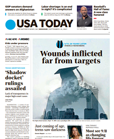 Read Online USA Today Magazine 3 To 5 September 2021 Hear And More USA Today News And USA Today Magazine Pdf Download On Website.