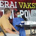 Gerai Vaksin Polres Purbalingga Terus Layani Vaksinasi Masyarakat
