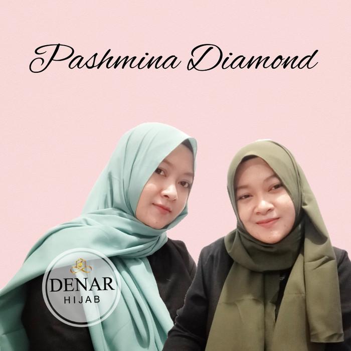 Jilbab Hijab Kerudung Pashmina Diamond Jilbab Pasmina Terbaru murah -