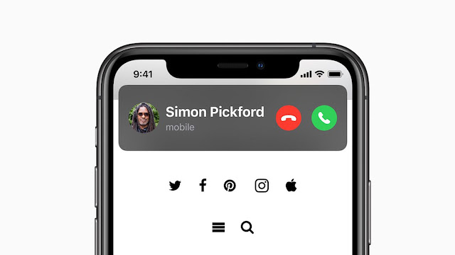 Source : Apple | iOS 14 Update - Calling feature similar like Android