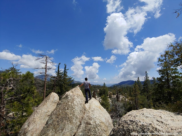 Chilao to Mt. Hillyer via Horse Flats Trail