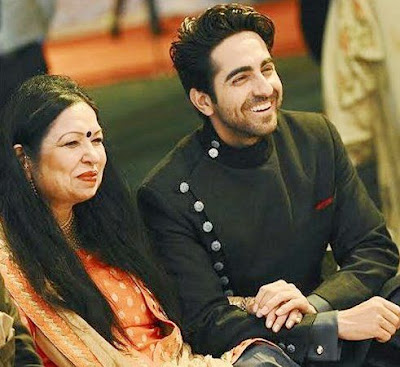 Ayushmann Khurrana with mother